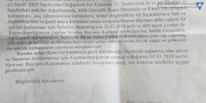 İki ilçede Newroz kutlamaları yasaklandı