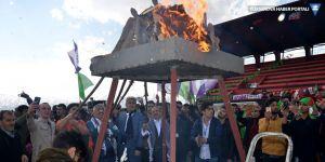 Yüksekova Newroz'undan görüntüler