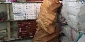 Jandarma tarafından 7 bin 730 paket kaçak sigara ele geçirildi