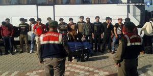 Jandarma, Van'da 123 kaçak göçmen yakaladı