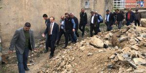 Hakkari Gazi'de imar yolu açılıyor
