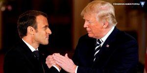 Trump'tan Macron'a: AB'den ayrılsanıza