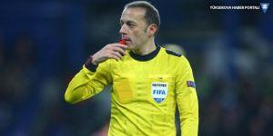 Hırvatistan-İngiltere maçını Cüneyt Çakır yönetecek