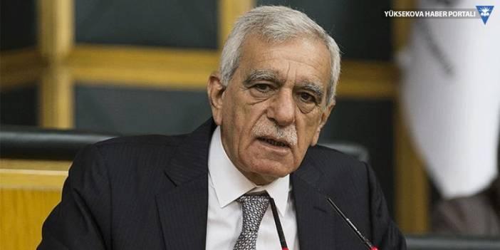 Ahmet Türk: Önder'in açıklamasını hayretle karşıladım