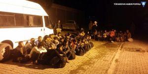 Van'da 125 kaçak şahıs yakalandı