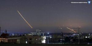 İsrail füzelerle saldırdı, Suriye Golan'ı vurdu
