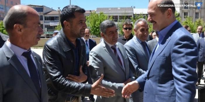 İçişleri Bakanı Süleyman Soylu Yüksekova'daydı