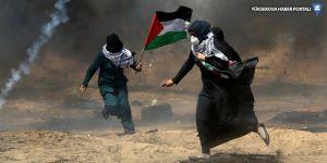 İsrail askerleri Gazze sınırında 63 Filistinliyi yaraladı