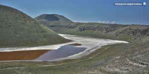 'Volkanik miras' Meke gölü kurudu