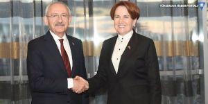 Kılıçdaroğlu ve Akşener, pazartesi görüşecek