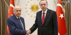 Erdoğan ve Bahçeli görüşmesi sona erdi