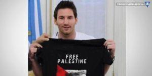Messi iptal ettirmiş: Filistin zulüm görürken nasıl oynarız!