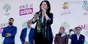 Buldan: Kayyımlar Erdoğan'ın kıraathanesinde kek yiyip çay içecekler