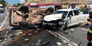 Bayram tatilinde acı kaza bilançosu : 39 ölü, 156 yaralı