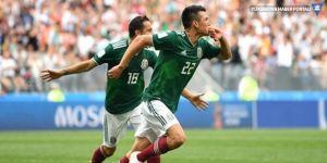 Meksika, son şampiyon Almanya'yı mağlup etti