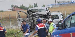 Feci trafik kazası: 5 kişi hayatını kaybetti