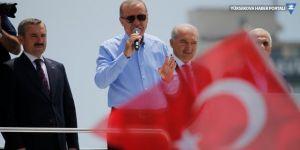 Erdoğan: Şimdi Kandil'deyiz, gerekirse Sincar'da olacağız