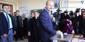 Soylu: Oy verme işlemi sorunsuz başladı