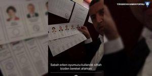 Ak Parti'li belediye başkanı kullandığı oyu paylaştı: Siftah bizden!