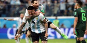 Arjantin bu kez sevinçten ağladı!