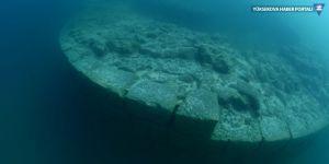 Van Gölü derinliklerinde tarihi yapılara ulaşıldı