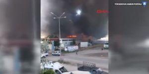 Ankara'da alarm: Kimyasal fabrikasında yangın