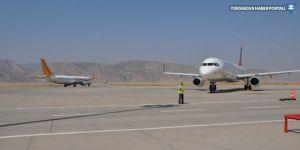 Şırnak'ta 34 bin 73 kişi uçakla yolculuk yaptı