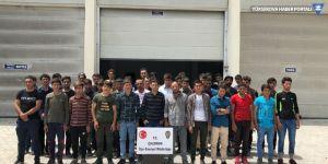 Van'da 52 kaçak mülteci yakaladı