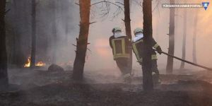 Afrin'de büyük orman yangını