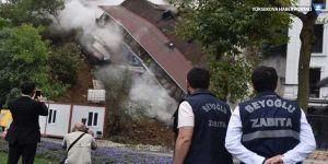 Beyoğlu Belediyesi: Çöken binanın yanındaki otel inşaatı Arda Turan'a ait