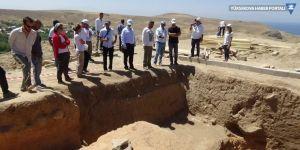 Van'da 250 yıl başkentlik yapan Urartuların eserleri gün yüzüne çıkartılıyor