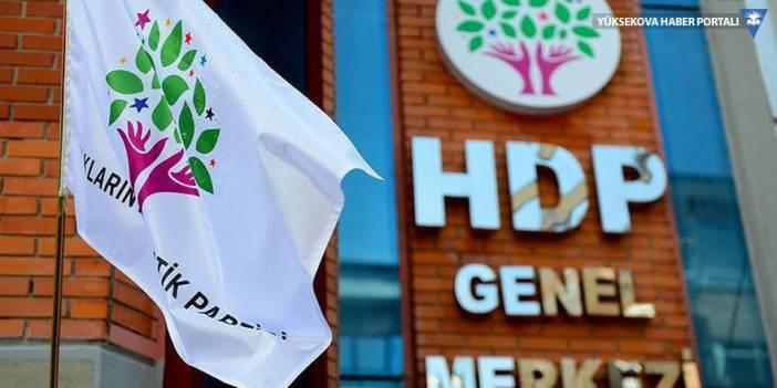 HDP'de üç partiyle online bayramlaşma