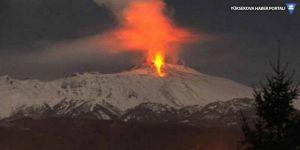 Etna Yanardağı yeniden faal oldu
