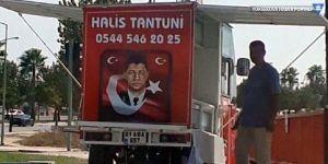 'Ömer Halisdemir' fotoğraflı tezgaha müdahale