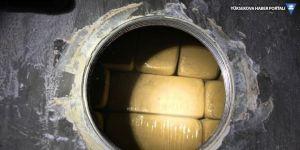 Tırın deposunda 140 kilo eroin çıktı