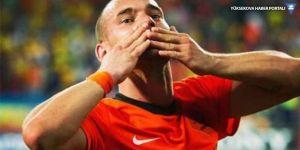 Sneijder milli takımı bıraktı