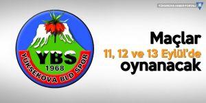 Yüksekova Belediyespor'un rakibi belli oldu