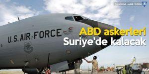 'ABD'nin Suriye'deki görevleri güncellendi'