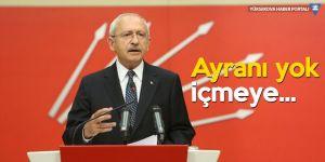 Kılıçdaroğlu'ndan resepsiyon eleştirisi: Ayranı yok içmeye...