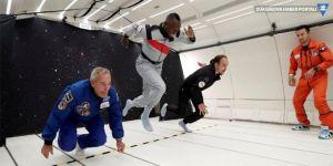 Usain Bolt, yerçekimsiz ortamda koştu