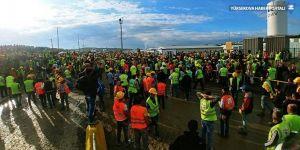 Üçüncü havalimanında işçiler gözaltına alındı