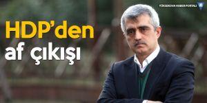 HDP'li Gergerlioğlu'ndan 'af' çıkışı: En önemli konu bence af olacak