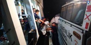 Bodrum'da mülteci teknesi battı