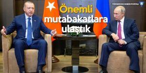 Erdoğan: İdlib'de silahlardan arındırılmış bölge oluşturulacak