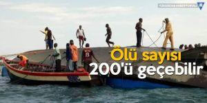 Tanzanya'da gemi kazası