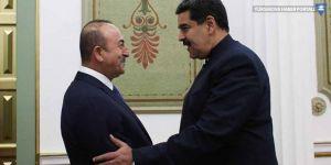 Çavuşoğlu, Maduro ile görüştü: Dayanışmamızı artıracağız