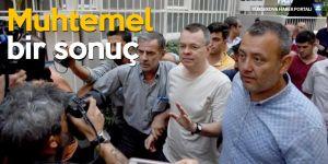 Türk yetkili: Brunson 12 Ekim'de serbest bırakılabilir