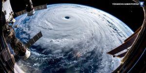 Süper tayfun uzaydan görüntülendi