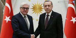 Steinmeier: Erdoğan'ın ziyareti normalleşme değil, bundan çok uzağız