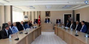 Hakkari'de tarım projeleri tanıtım toplantısı yapıldı